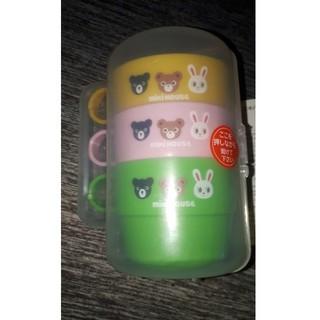 ミキハウス(mikihouse)のミキハウス コップ 3個セット(グラス/カップ)