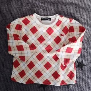 バーバリー(BURBERRY)のBURBERRY 長袖カットソー 80cm(シャツ/カットソー)