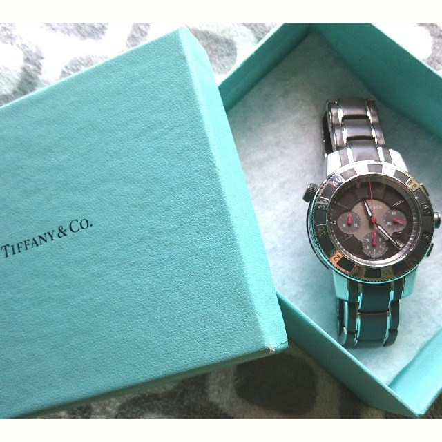 Tiffany & Co. - TIFFANY & Co. 腕時計 クロノグラフの通販 by Mommy.'s shop|ティファニーならラクマ