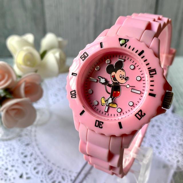 クロノスイス 時計 コピー 購入 、 OVER THE STRIPES - 【電池交換済】BEAMS × Over the stripes 腕時計 ピンクの通販 by soga's shop|オーバーザストライプスならラクマ