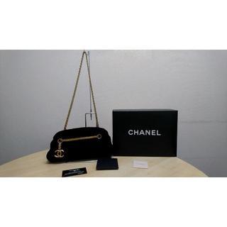 231ec78a82b6 シャネル(CHANEL)のシャネル マドモアゼル チェーンショルダーバッグ ボーリングバッグ ゴールド金具(ショルダー