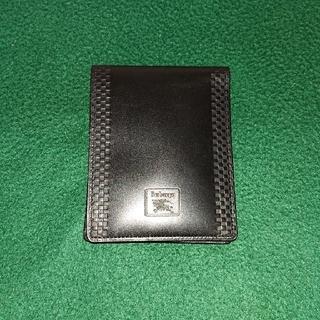 バーバリー(BURBERRY)の美品‼️バーバリーの2つ折り財布 メンズ (折り財布)