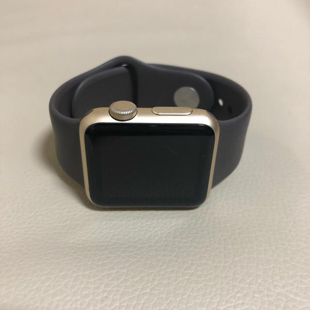 ロレックス 一番高い 時計 、 Apple Watch - Apple Watch series1  38mm ゴールドアルミニウムの通販 by  くまたろう|アップルウォッチならラクマ
