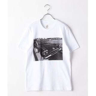 シップスフォーウィメン(SHIPS for women)のkhaju フォトTシャツ(Tシャツ(半袖/袖なし))