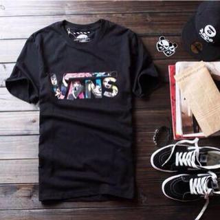 ヴァンズ(VANS)のVANS 黒M Tシャツ(その他)