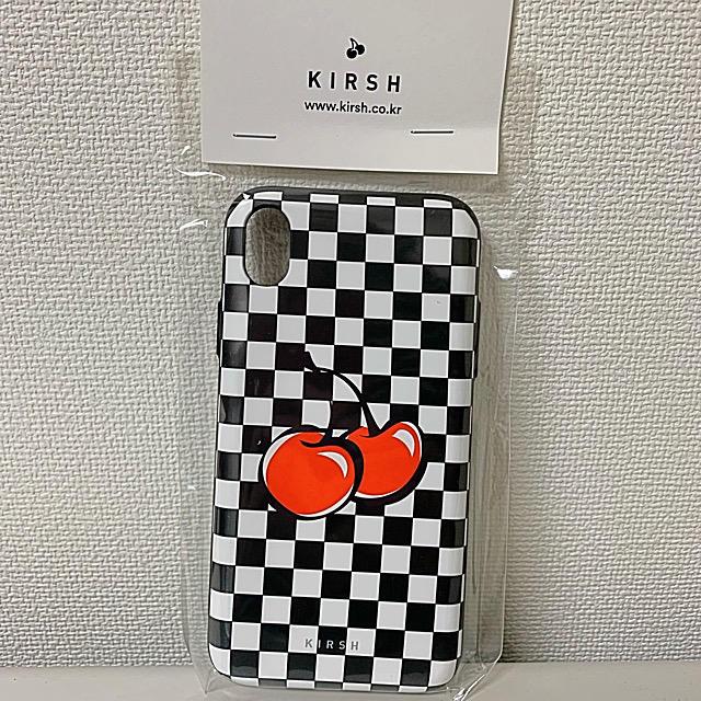 iphoneケース キラキラ / 新品 kirsh キルシー iPhoneケース XRの通販 by ちーKOREAshop|ラクマ