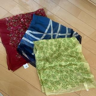 シビラ(Sybilla)のスカーフ 4枚セット シルク100% シビラ 4℃(バンダナ/スカーフ)