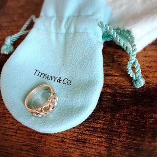 ティファニー(Tiffany & Co.)の【Tiffany】3連ハート/シルバーリング(リング(指輪))