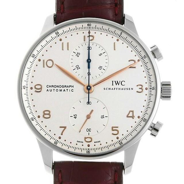 ブライトリング 時計 コピー 優良店 | IWC - ポルトギーゼ クロノグラフ IW371445 未使用 メンズ 腕時計の通販 by mjjdie_aaw's shop|インターナショナルウォッチカンパニーならラクマ