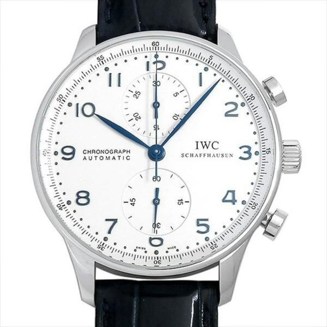 ブランド腕 時計 中古 | IWC - ポルトギーゼ クロノグラフ IW371417 メンズ 腕時計の通販 by mjjdie_aaw's shop|インターナショナルウォッチカンパニーならラクマ
