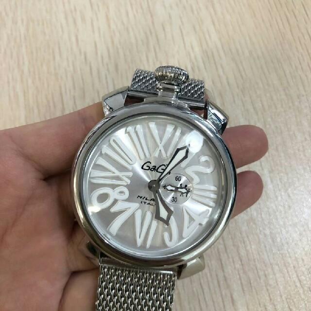 GaGa MILANO - ガガミラノ 腕時計 メンズウォッチの通販 by afsw 's shop|ガガミラノならラクマ