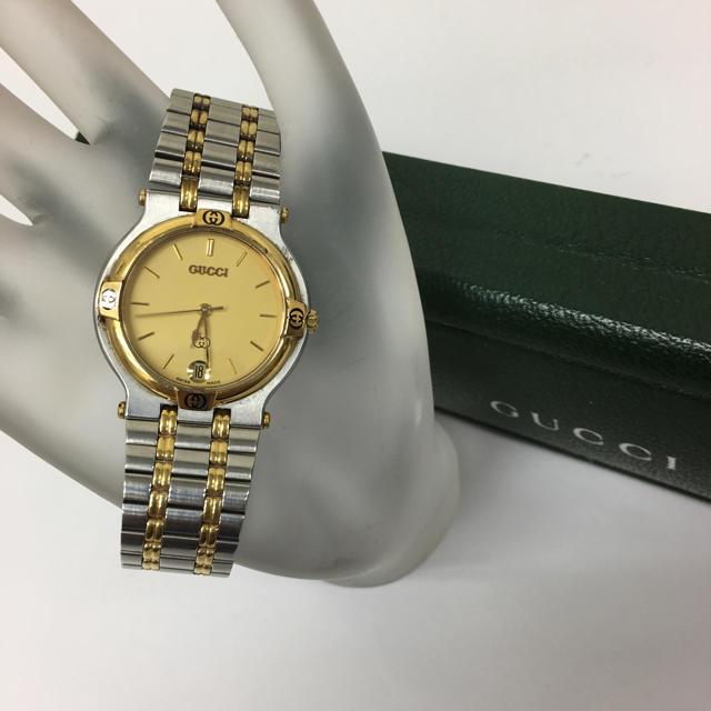 Gucci - 正規品 グッチ GUCCI 9000M腕時計の通販 by toshio's shop|グッチならラクマ