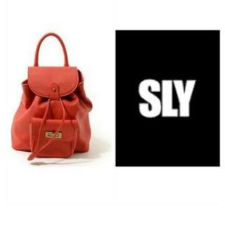 スライ(SLY)のSLY リュックサック(リュック/バックパック)