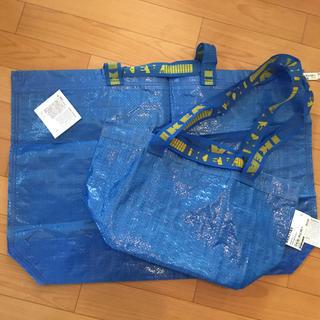 イケア(IKEA)のIKEA ショッピングバック レジャー等 2枚セット(ショップ袋)