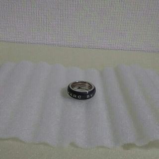 マークバイマークジェイコブス(MARC BY MARC JACOBS)の【used】MARC BY MARC JACOBS 指輪 グレー系(リング(指輪))