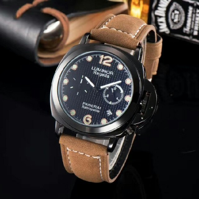 IWC偽物 時計 爆安通販 | PANERAI - PANERAI パネライタイプ 腕時計の通販 by 平川's shop|パネライならラクマ