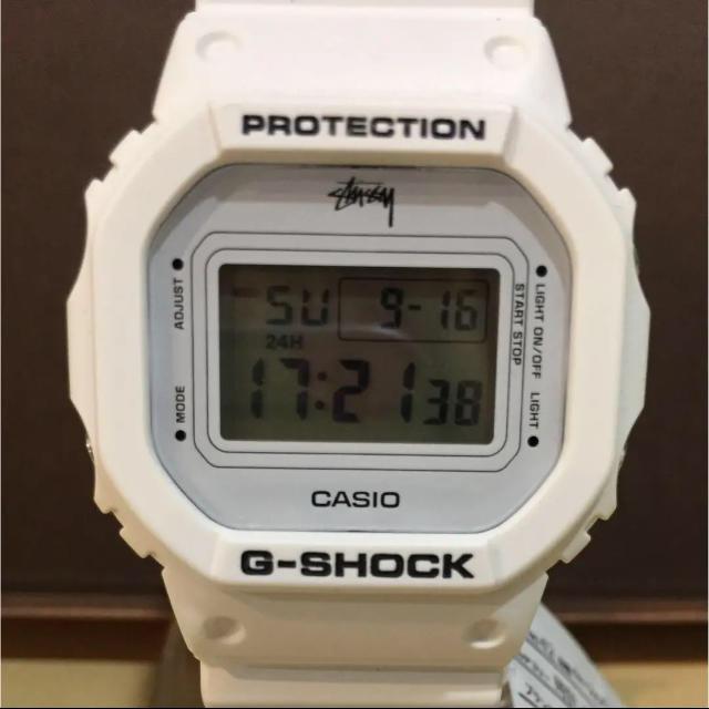 G-SHOCK - G-SHOCK STUSSY コラボモデル 時計 デジタルウォッチの通販 by ポポロ|ジーショックならラクマ