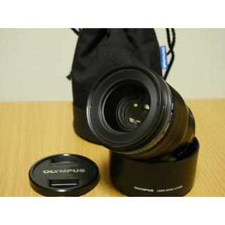オリンパス(OLYMPUS)の【美品、ポーチ付き!】 M.ZUIKO DIGITAL ED 25mm F1.2(レンズ(単焦点))