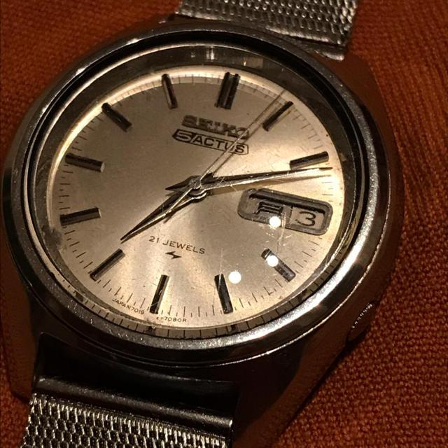 カルティエ  時計 | SEIKO - セイコーファイブ Seiko 5 Actusの通販 by pizzaitalia's shop|セイコーならラクマ