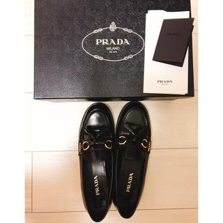プラダ(PRADA)のPRADA タッセルローファー(ローファー/革靴)
