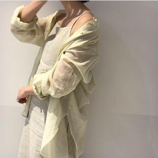 プラージュ(Plage)の2019ss オーガンジーチュニックシャツ(シャツ/ブラウス(長袖/七分))