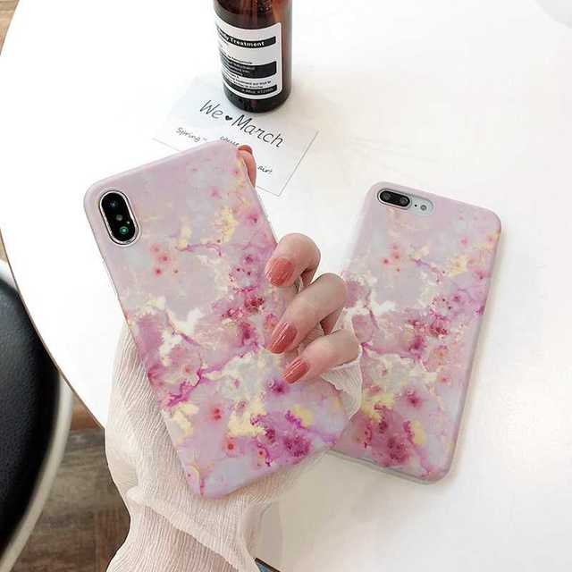 iphone7 ケース 透明 薄い - 大理石柄 iPhoneX/XS ケース ソフト の通販 by coco's shop|ラクマ