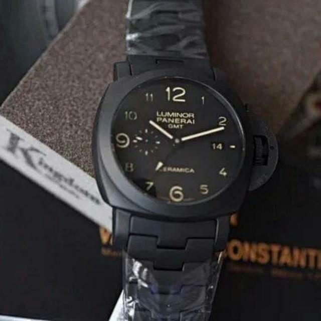 OFFICINE PANERAI - 今季PANERAI(パネライ) 黒文字盤 メンズ 腕時計の通販 by タニグチ's shop|オフィチーネパネライならラクマ