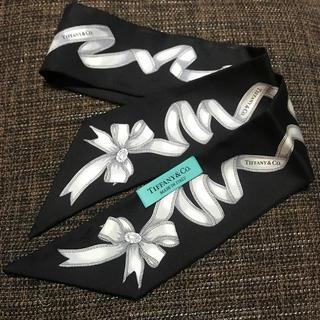 ティファニー(Tiffany & Co.)のTiffany リボンスカーフ(バンダナ/スカーフ)