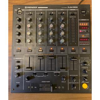 パイオニア(Pioneer)のPIONEER DJM500 パイオニア4chレイアウトミキサー DJM-500(DJミキサー)