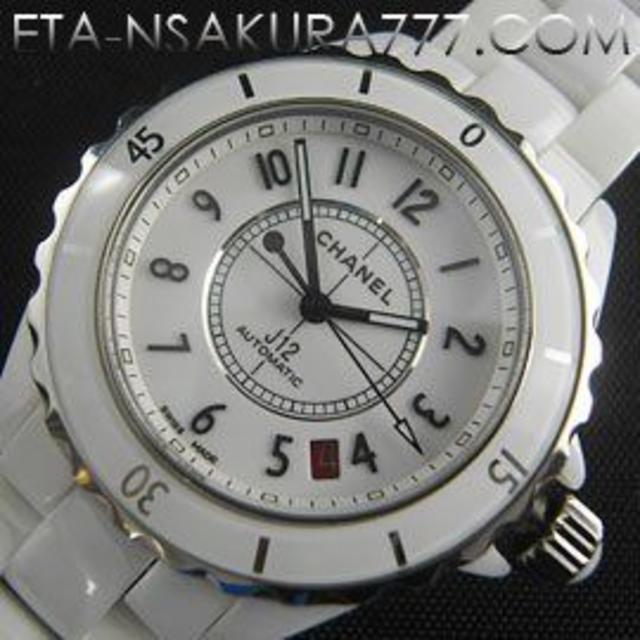 パネライ偽物 時計 時計 | CHANEL - シャネル J12 Casino ,Asain 2824-2搭載 自動巻きの通販 by thth's shop|シャネルならラクマ