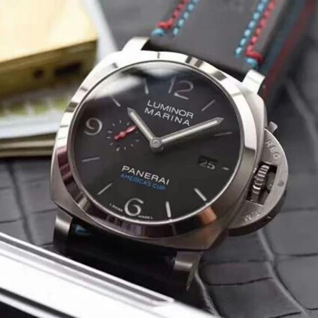 OFFICINE PANERAI - 今季PANERAI(パネライ)ブラック文字盤 メンズ 腕時計の通販 by タニグチ's shop|オフィチーネパネライならラクマ