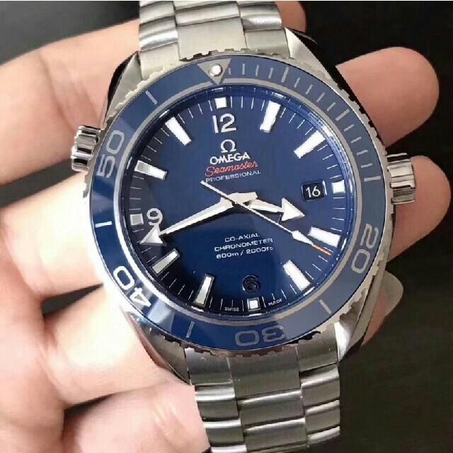 ブライトリング ブラック | OMEGA - OMEGA オメガ シーマスター プラネットオーシャン メンズ 腕時計の通販 by 源平's shop|オメガならラクマ