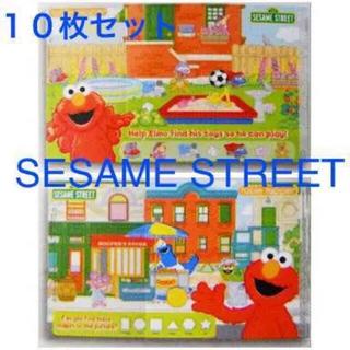 セサミストリート(SESAME STREET)の未使用 セサミストリート コストコ ランチョンマット テーブルトッパー エルモ(お食事エプロン)