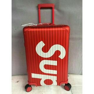 シュプリーム(Supreme)のsupremeシュプリームスーツケース(トラベルバッグ/スーツケース)