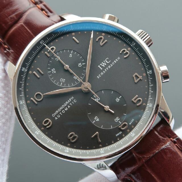 クロノスイス 時計 コピー 値段 、 IWC - 大人気 IWCポルトガル 定番人気 腕時計 の通販 by おはふ's shop|インターナショナルウォッチカンパニーならラクマ