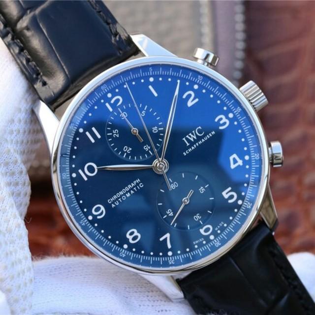 IWC 時計 スーパー コピー 一番人気 | IWC - 大人気 IWCポルトガル 定番人気 腕時計 の通販 by おはふ's shop|インターナショナルウォッチカンパニーならラクマ
