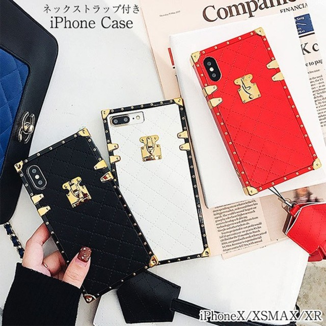 iphone 7 plus ケース 韓国 、 アイフォンケース ネックストラップ付 スマホケース   の通販 by ザキ's shop|ラクマ