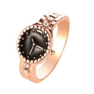 新しい創造的な腕時計型カップルリング(リング(指輪))