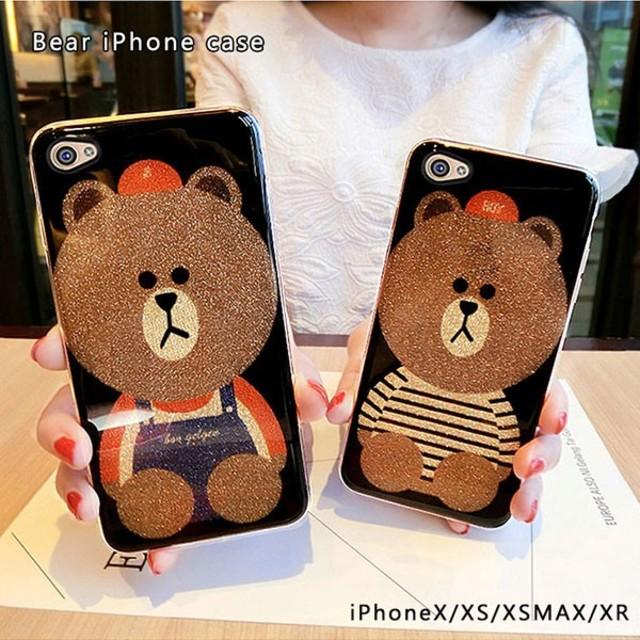 グッチ iphonexs ケース バンパー 、 iPhoneケース クマ柄ケース   の通販 by ザキ's shop|ラクマ