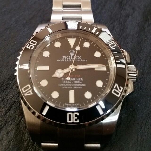 高級 時計 iwc 、 ノーブランド自動巻きサブマリーナ SUPサブFUCKEMの通販 by T-Dopez's shop|ラクマ