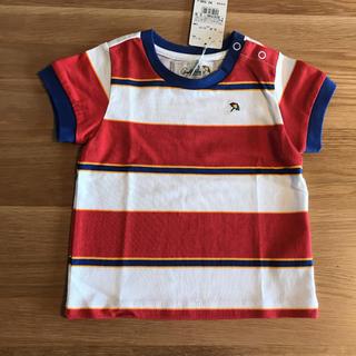 アーノルドパーマー(Arnold Palmer)の【新品未使用】アーノルドパーマー ラガープリントTシャツ95cm 綿100%(Tシャツ/カットソー)