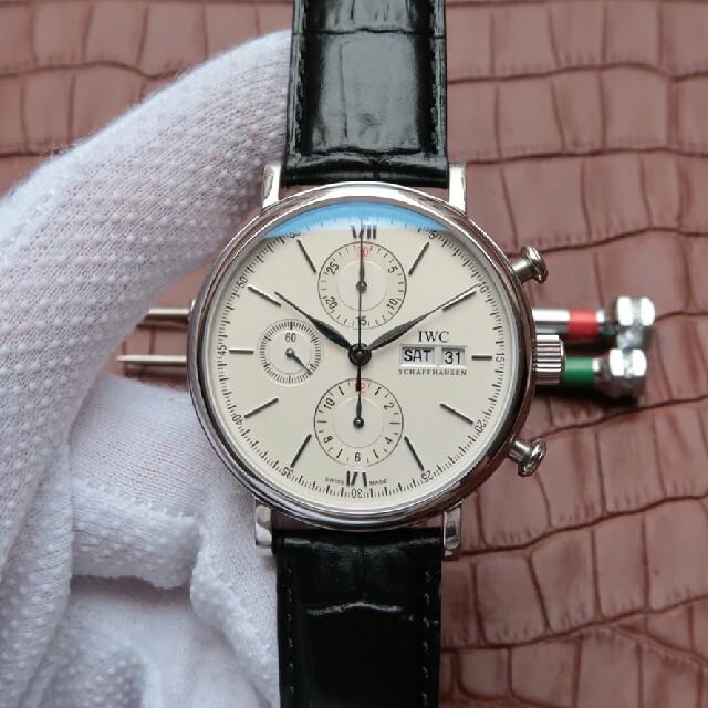 IWC - 大人気 IWCポルトガル 定番人気 腕時計 の通販 by おはふ's shop|インターナショナルウォッチカンパニーならラクマ