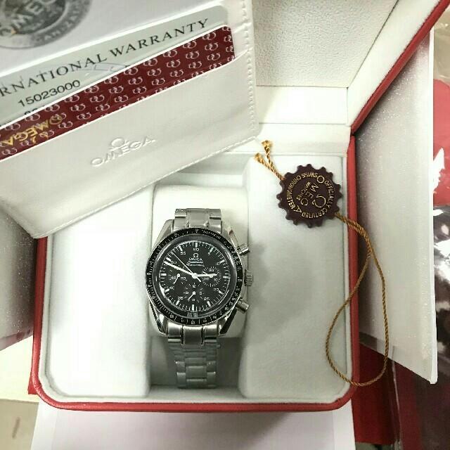 OMEGA - オメガ OMEGA スピードマスター デイト 手巻き ブランド腕時計の通販 by えせな's shop|オメガならラクマ