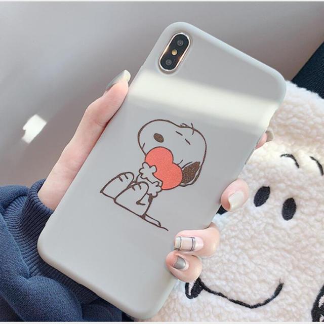 スヌーピー iPhone ケース。入荷先も在庫ぎれの通販 by  Batty Batty's shop|ラクマ
