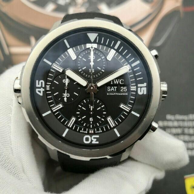 ブランド 腕時計 スーパーコピー 代引き口コミ / IWC - IWC アクアタイマーエクスペディション IW376803 時計 メンズ の通販 by えせな's shop|インターナショナルウォッチカンパニーならラクマ