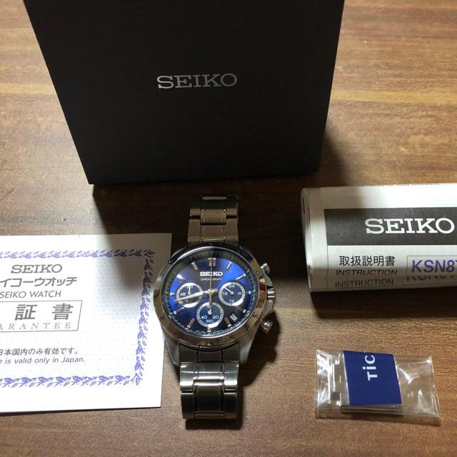 IWC 時計 コピー 新作が入荷 、 SEIKO - SEIKO SELECTION セイコー セレクション 8Tクロノグラフ メンズの通販 by ありん's shop|セイコーならラクマ