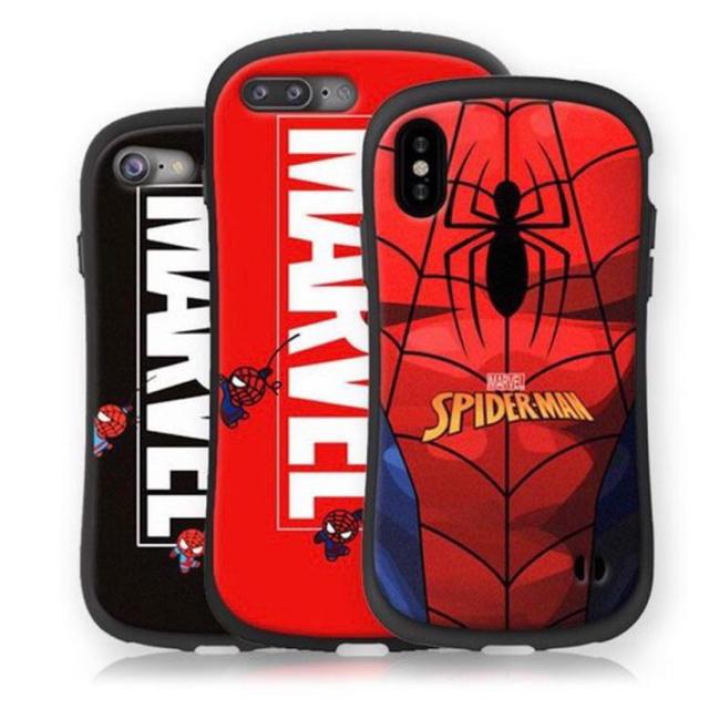 マーベル スパイダーマン iPhoneケースの通販 by なんでもや's shop|ラクマ