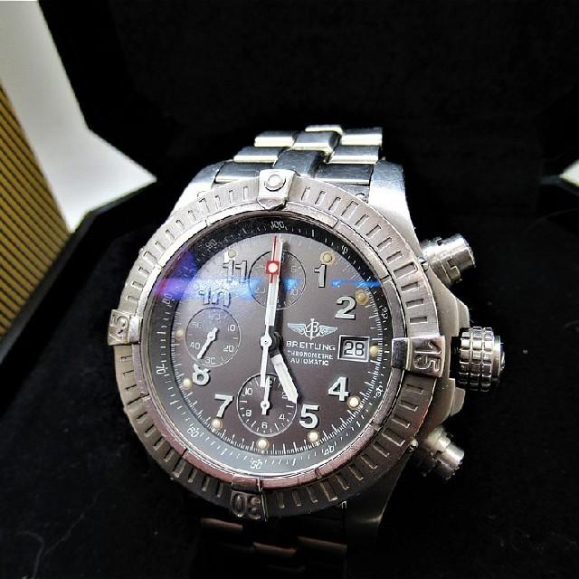 n品 時計 | BREITLING -  ブライトリングクロノアベンジャーE130M06PTの通販 by K2's shop|ブライトリングならラクマ