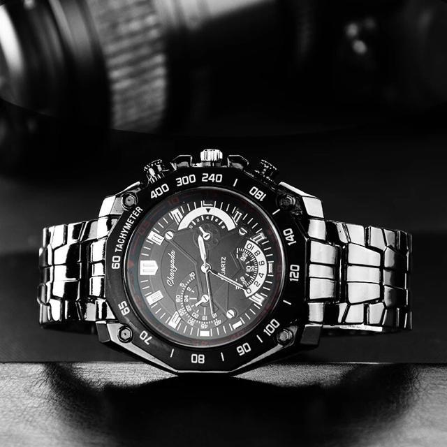 再入荷!【高級 ステンレス】 ビジネス メンズ 腕時計 男 新品 黒 の通販 by 児玉さん家❁'s shop|ラクマ