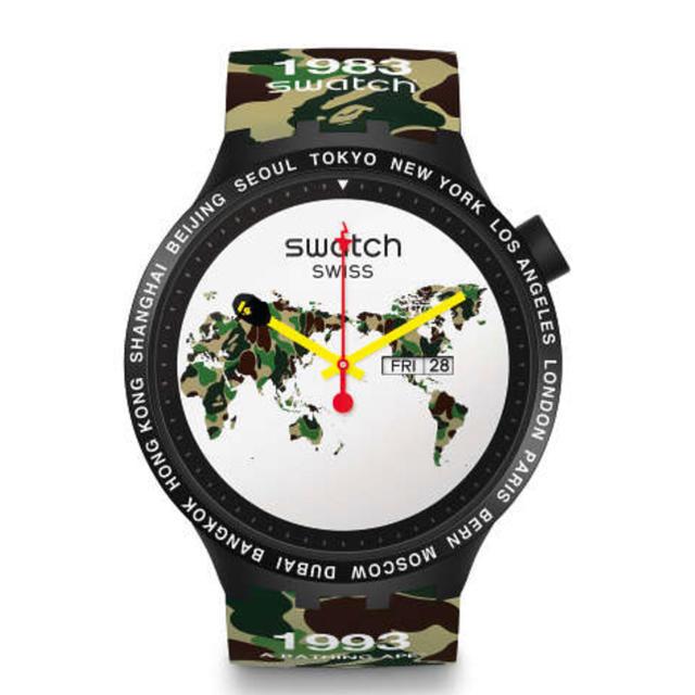 スーパーコピー 時計 防水 気圧 / swatch - swatch bepe エイプ ワールドの通販 by 日本人|スウォッチならラクマ
